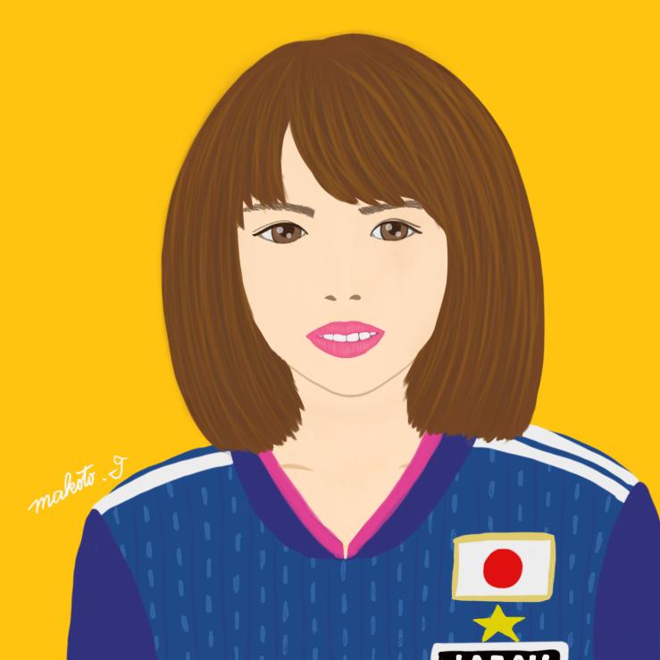 プロクリエイトにて描画しました。  なでしこジャパン🇯🇵のイラストです。  iPad Proでのイラスト作画、今までフォトショップスケッチだけでしたが、プロクリエイト はレイヤーマスクや、そのほかの機能が慣れたら快適で、作画が楽しかったです。  ^ω^  #なでしこジャパン #頑張れ日本  #Procreate #illustration #Digitalpainter #drawing🎨  #毎日描画 #イラスト日記 #LogicRockStar #Sapporo #Hokkaido #Japan #日本 #なでしこリーグ